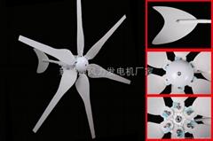 600w家用风光互补照明系统用风力发电机