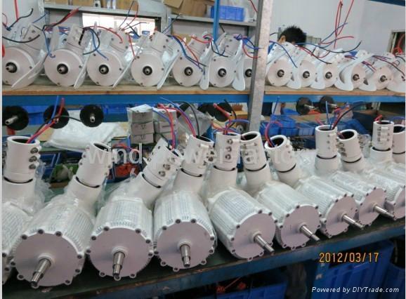 OEM 500W wind turbine power generator windmill products 12V/24V 4