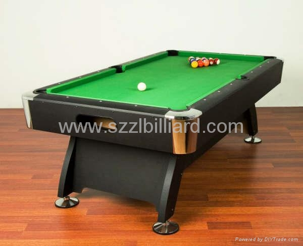 2011 hot selling billiard table zlb p001 double star. Black Bedroom Furniture Sets. Home Design Ideas