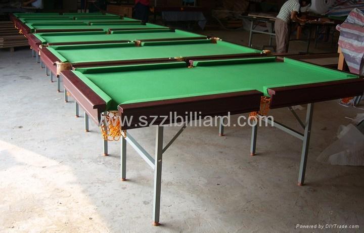 Good Quality Mdf Billiard Table Zlb