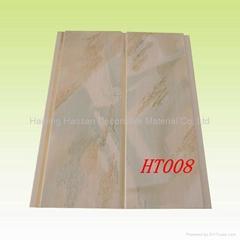 (30cm*9.5mm)純白色覆膜的PVC護牆板