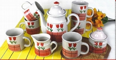11 PC / 9 PC coffee set