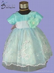 flower girl dress for children