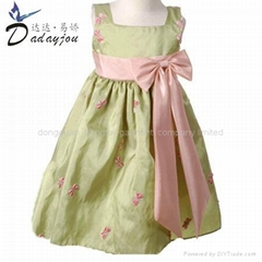 new design flower girl dress