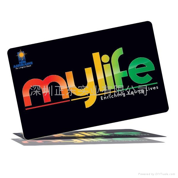 PVC磁卡磁条卡 2