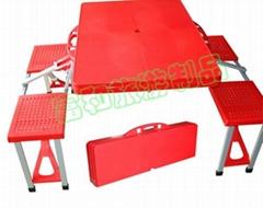 ABS高級塑料加厚桌面折疊桌