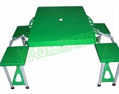 ABS高級塑料加厚桌面四人野餐桌