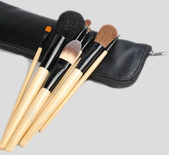 Natural Make-up Brush Set 3