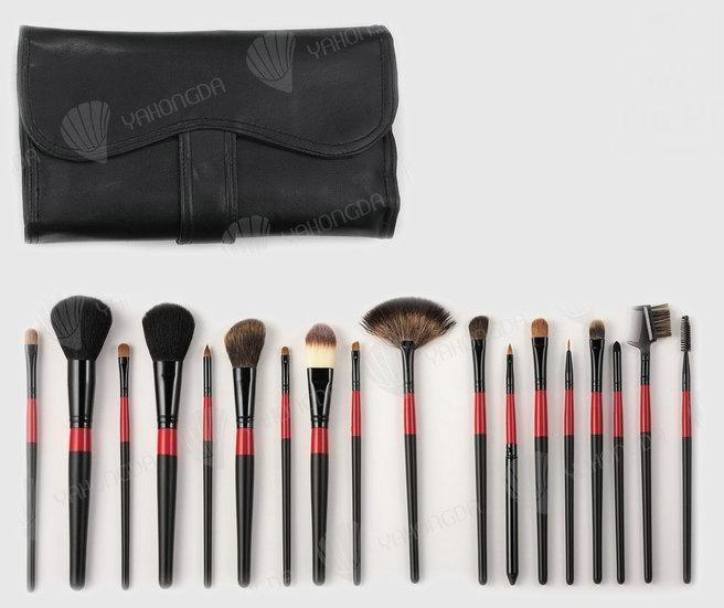 Natural Make-up Brush Set 4