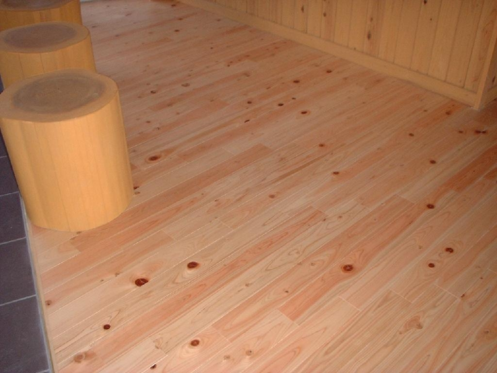 Wood Flooring Product : Hinoki cypress wood floor xt h xintong china