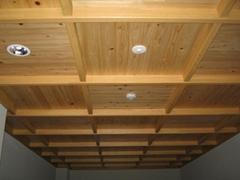 Cypress wood ceiling board