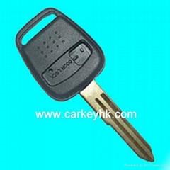 Nissan bluebird remote key shell