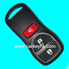 Nissan X-Trail 3 buttons remote case