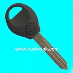 Nissan key shell