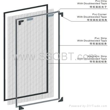 Magnetic Insect Screen For Windows G215 Ssobt China