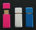 mini metal USB flash drive with Led light flash  2