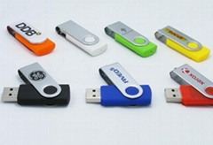 Swivel/Twist USB Flash Drive memery stick