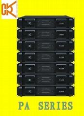 Pro power amplifier PA series