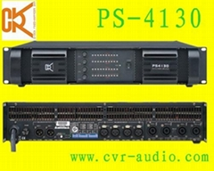 SMPS technology power amplifier(PS-4130)
