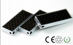 carbon fiber slim USB flash drives logo engraved promote Gift usb memory sticks