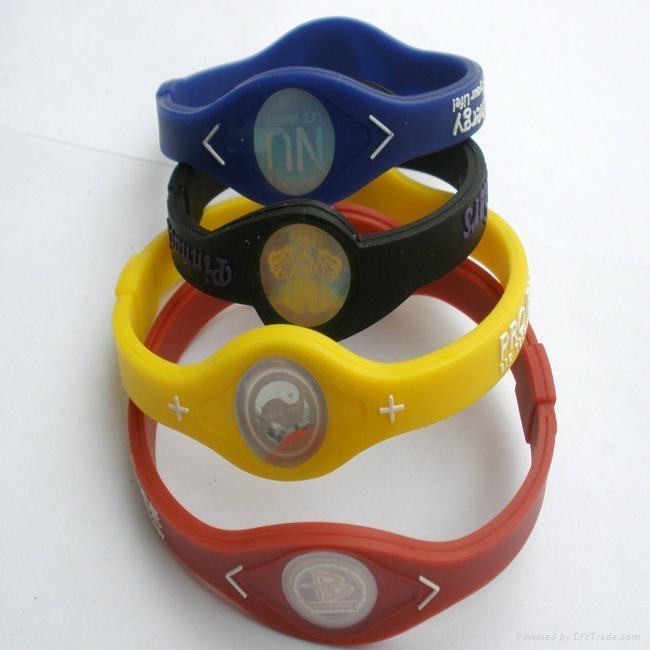 Fashion design energy silicone bracelet 2011 hot sell 1
