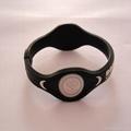 Fashion design energy silicone bracelet 2011 hot sell 2