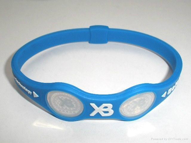 XB balance silicone XB bracelet 2011 hot sell 1