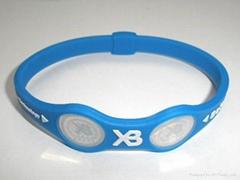 XB balance silicone XB bracelet 2011 hot sell