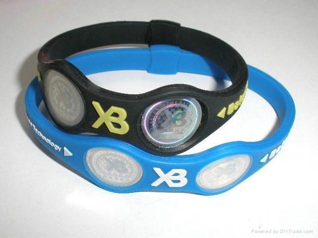 XB balance silicone XB bracelet 2011 hot sell 3