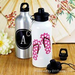 Aluminium water bottle single wall 3
