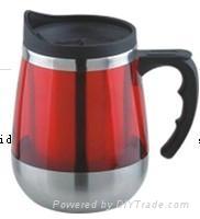 450ml stainless steel travel mug