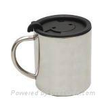 stainless steel coffee mug coffee cup