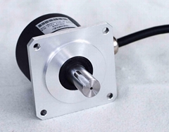 GI60标准工业等级增量型编码器-方形法兰