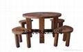 戶外傢具車輪桌凳(五件套) 1