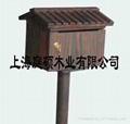 刻紋木傢具別墅信箱