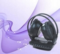 TV wireless headphone with fm radio for MP3 PC TV CD Wireless headset with micro