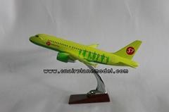 批發供應航空模型A319 S7航空樹脂飛機模型39cm