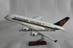 批發供應航空模型A380新加坡航空模型飛機模型47cm