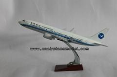 批發供應航空模型B737-800廈門航空飛機模型47cm