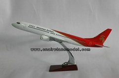 批發供應航空模型B737-900深圳航空飛機模型42cm