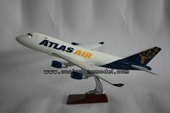 Resin airplane model B73