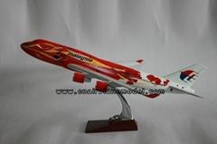 Resin airplane model B74