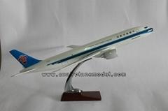 Resin airplane model B77