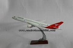批發供應飛機模型B787澳洲袋鼠航空模型36cm