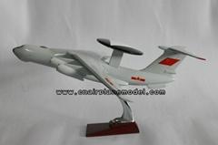 批發供應飛機模型空警2000航空模型47cm