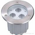 LED Inground light 3x3W