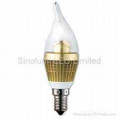 Energy-saving Radiationledd LED Candle Bulb