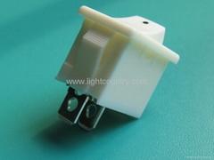 SPST electrical boat rocker switch