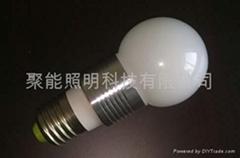 2W LED球泡燈