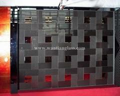 Wantian 3D art glass for background wall
